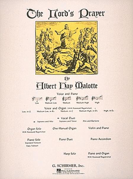 The Lord's Prayer - Soprano/Alto Duet