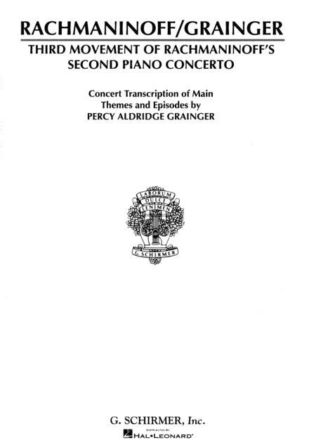 Concerto No. 2 - 3rd Movement