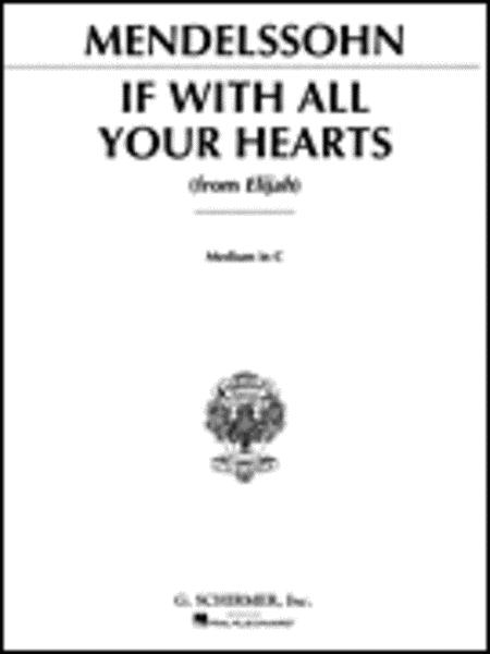 If With All Your Hearts (from Elijah)