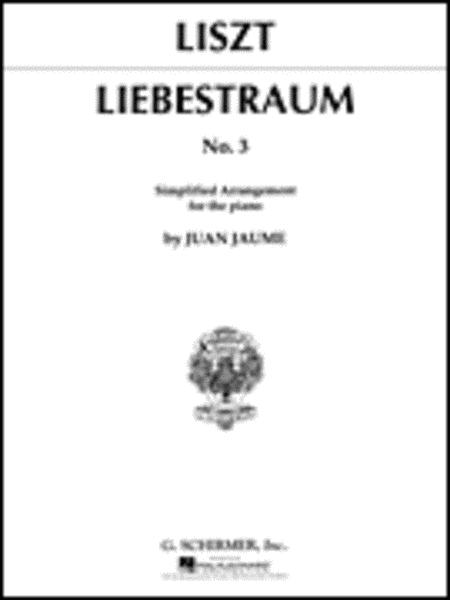 Liebestraume No. 3 In Ab Major - Simplified Piano Arrangement