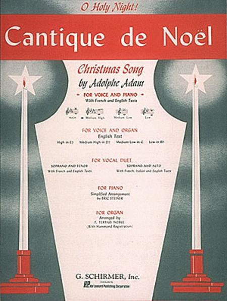 Cantique de Noel (O Holy Night) - Medium High
