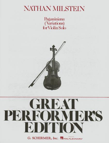 Paganiniana Variations - Violin
