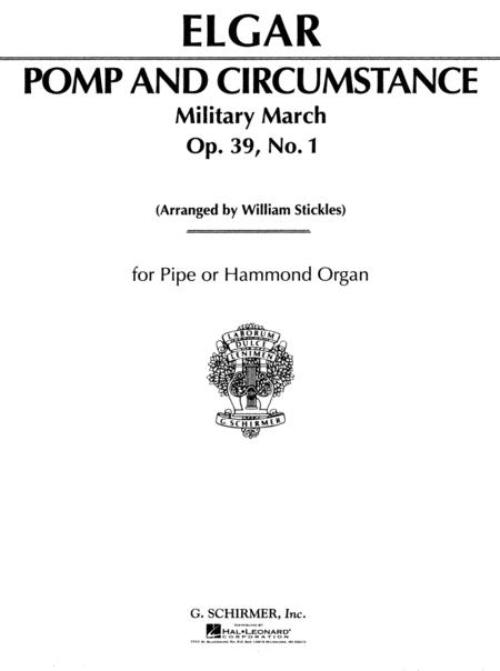Pomp and Circumstance, Military March #1 in D