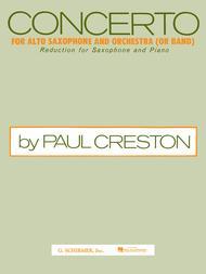 Concerto For Alto Saxophone - Alto Sax/Piano