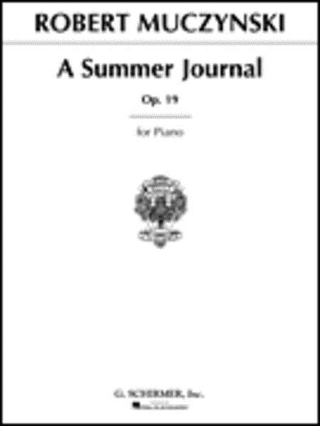 Summer Journal, Op. 19