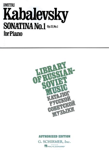 Sonatina No. 1, Op. 13
