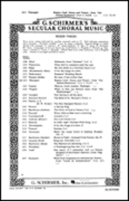 Regina Coeli Scene And Prayer Full S A & B Latin & English