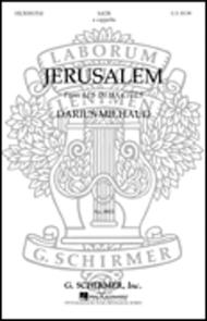 Jerusalem From Les Deux Cites French English A Cappella