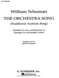 Orchestra Song, The Traditional Austrian Song
