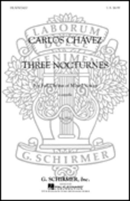 3 Nocturnes A Cappella