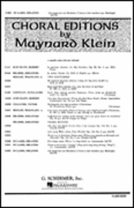 Ich Waiss Mir Ein Meidlein (I Know A Fair Maiden) TB A Cappella Arr. Klein