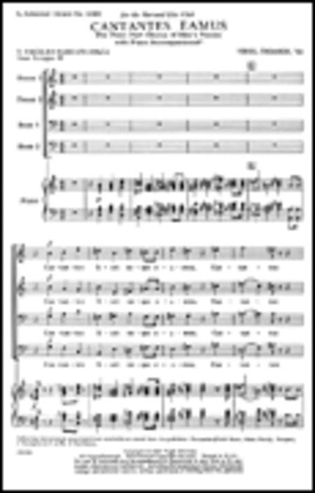 Cantantes Eamus W Piano