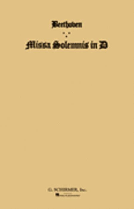 Missa Solemnis in D, Op. 123