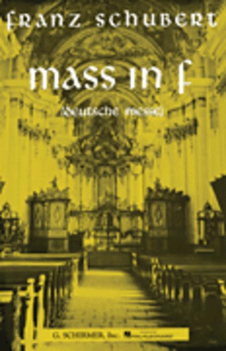 Mass in F (Deutsche Messe)