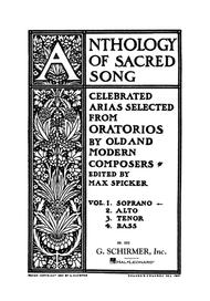 Anthology Of Sacred Song - Volume 1 - Soprano