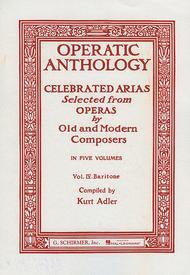 Operatic Anthology, Volume 4 - Baritone