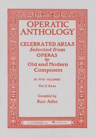 Operatic Anthology, Volume 5 - Bass