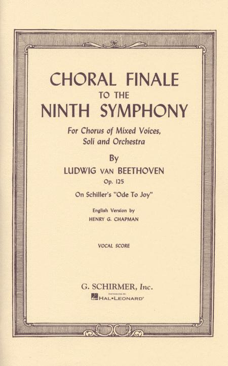 Choral Finale to the Ninth Symphony