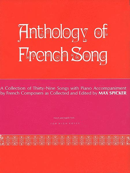 Anthology of Modern French Song - High Voice