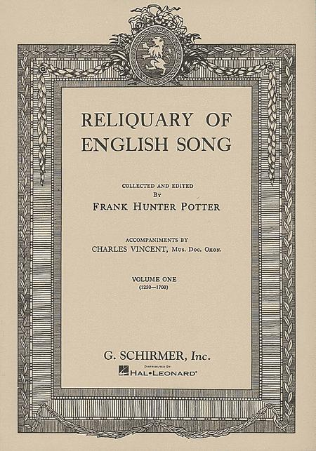 Reliquary of English Songs - Volume 1
