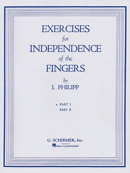 Isidor Phillip - Exercises for Independence of Fingers - Book 1