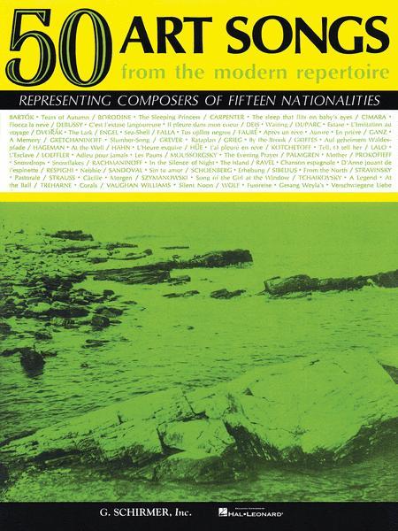 50 Art Songs from the Modern Repertoire