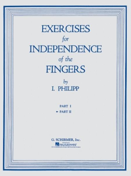Exercises for Independence of Fingers - Book 2