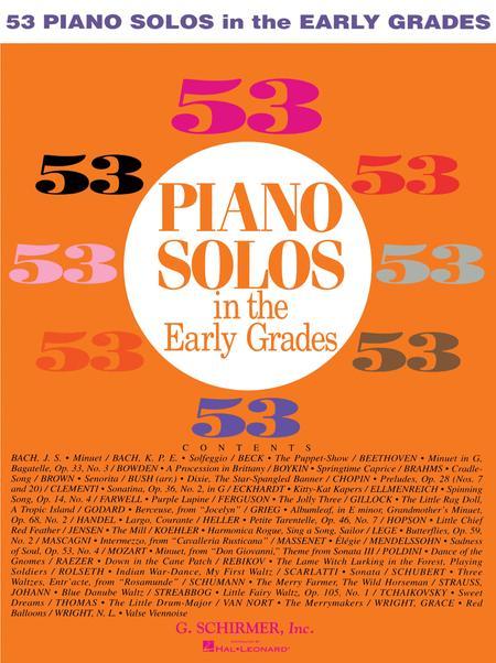 53 Early Grade Solos
