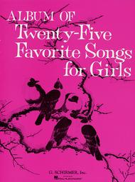 Album of 25 Favorite Songs for Girls (Revised)
