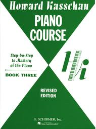 Piano Course - Book 3: Step by Step Mastery Of the Piano