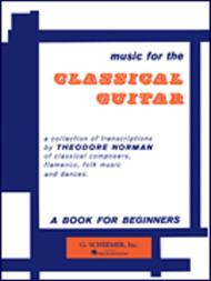 Music for the Classical Guitar - Book 1
