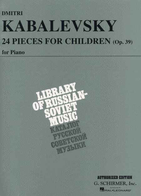 24 Pieces for Children, Op. 39