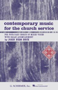Contemporary Music for the Church Service Organ