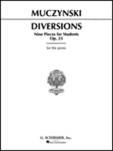 Diversions, Op. 23