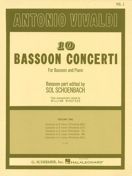 10 Bassoon Concerti, Vol. 1