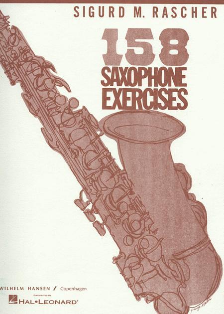158 Saxophone Exercises - Alto Saxophone