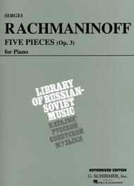 5 Pieces, Op. 3 (VAAP Edition)