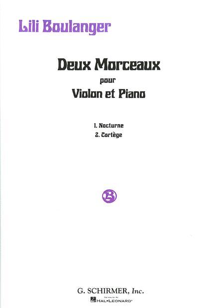 2 Morceaux: Nocturne and Cortege