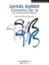 Concerto for Violin and Orchestra (Piano/Violin)