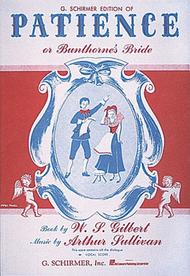Patience (or Bunthorne's Bride)
