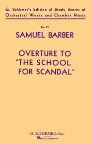 Overture to The School for Scandal, Op. 5