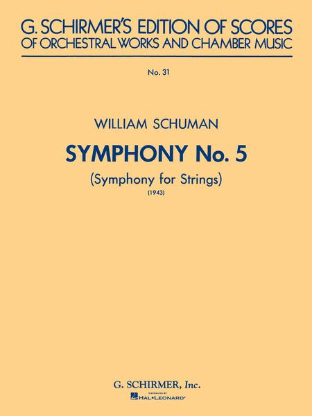 Symphony No. 5 (1943): Symphony for Strings