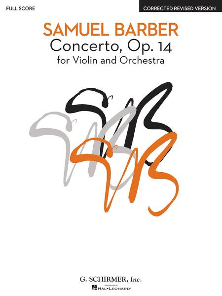 Concerto, Op. 14 - Corrected Revised Version