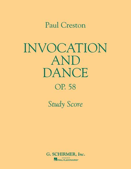 Invocation and Dance, Op. 58