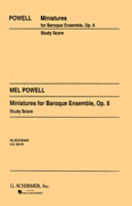 Miniatures for Baroque Ensemble, Op. 8