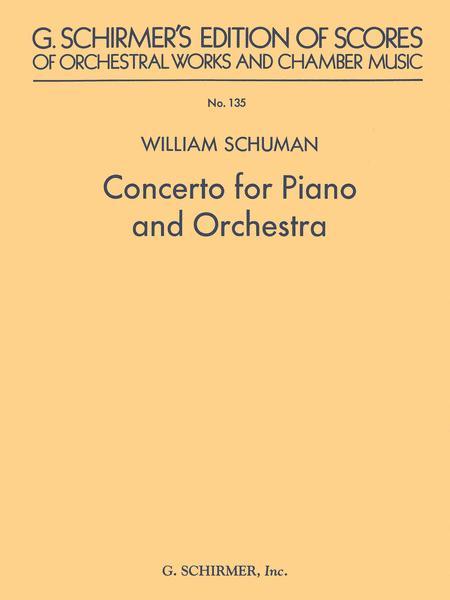 Concerto for Piano and Orchestra