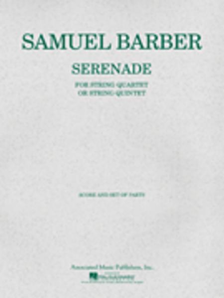 Serenade for Strings, Op. 1