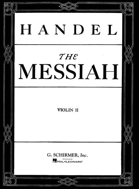 Messiah (Oratorio, 1741) - Violin II