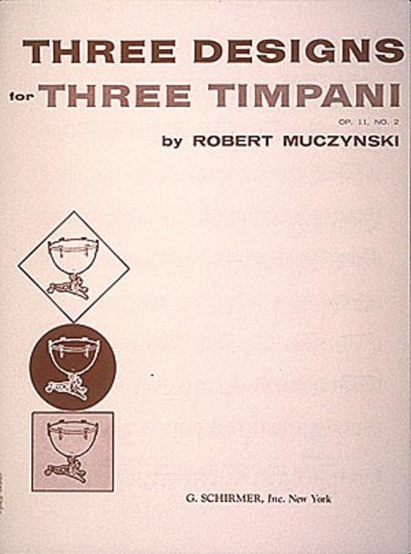 Designs for 3 timpani, Op. 11, No. 2