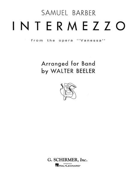 Intermezzo, Op. 32